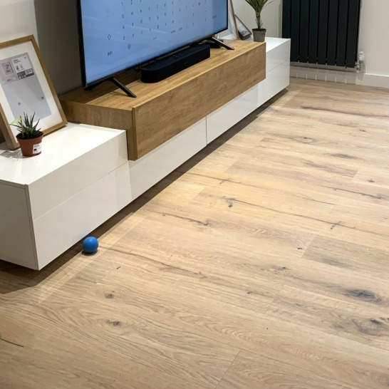 LVT Floor Cleaning